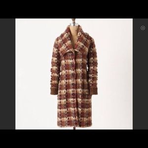 Anthropologie Charlie & Robin sweater coat size S
